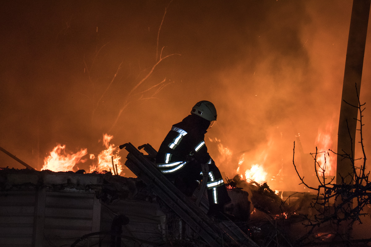 Причину пожара еще предстоит установить