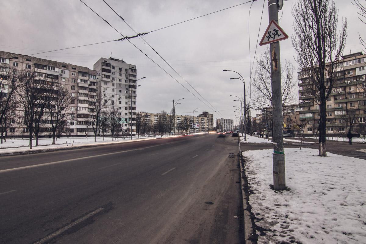 На улице Иорданской дорога после ремонта выглядит достаточно хорошо