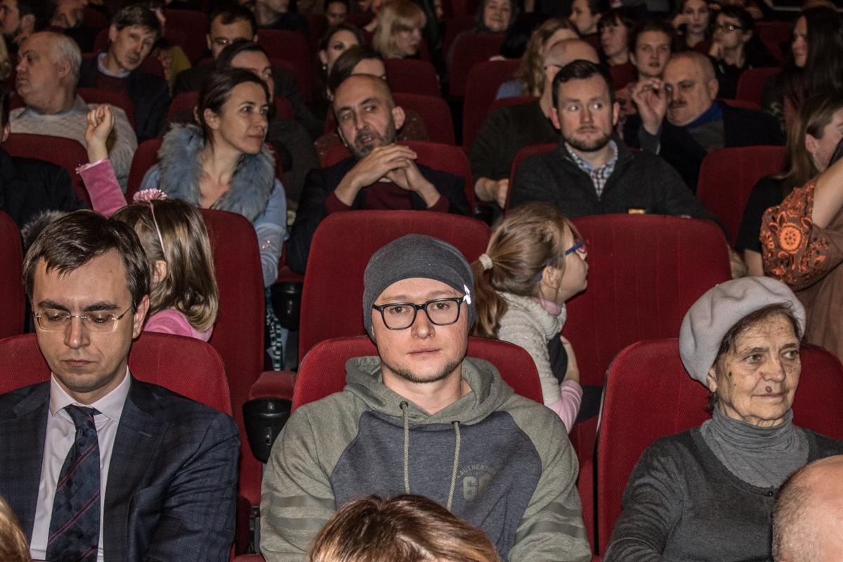 """Кинопремьеру посетил лидер группы """"Бумбокс"""" Андрей Хлывнюк"""