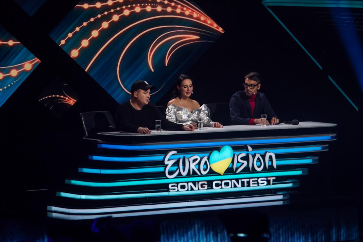 Судьи национального отбора Евровидения