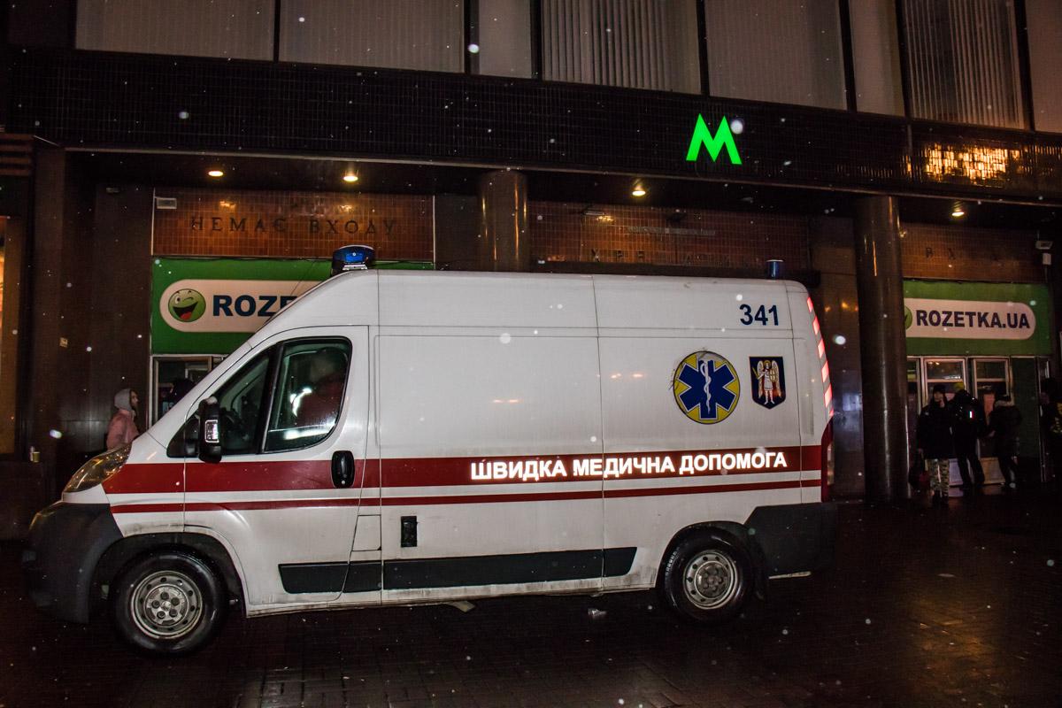 Скорая помощь оперативно приехала к месту инцидента