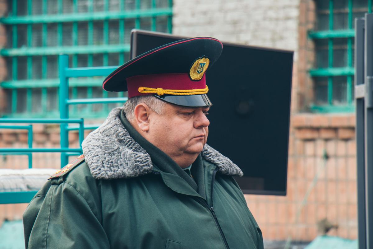 Начальник Лукьяновского СИЗО Валерий Бунак