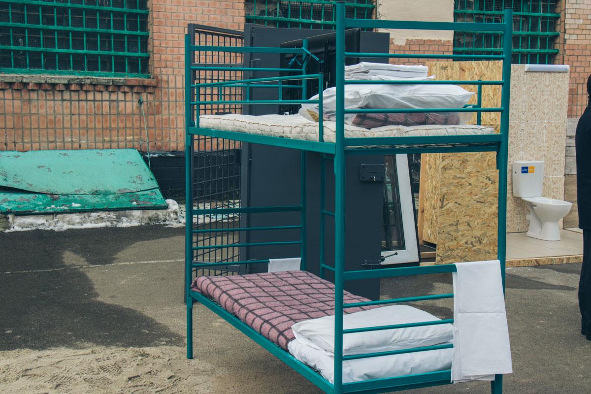 Эти новые кровати появятся в отремонтированных корпусах