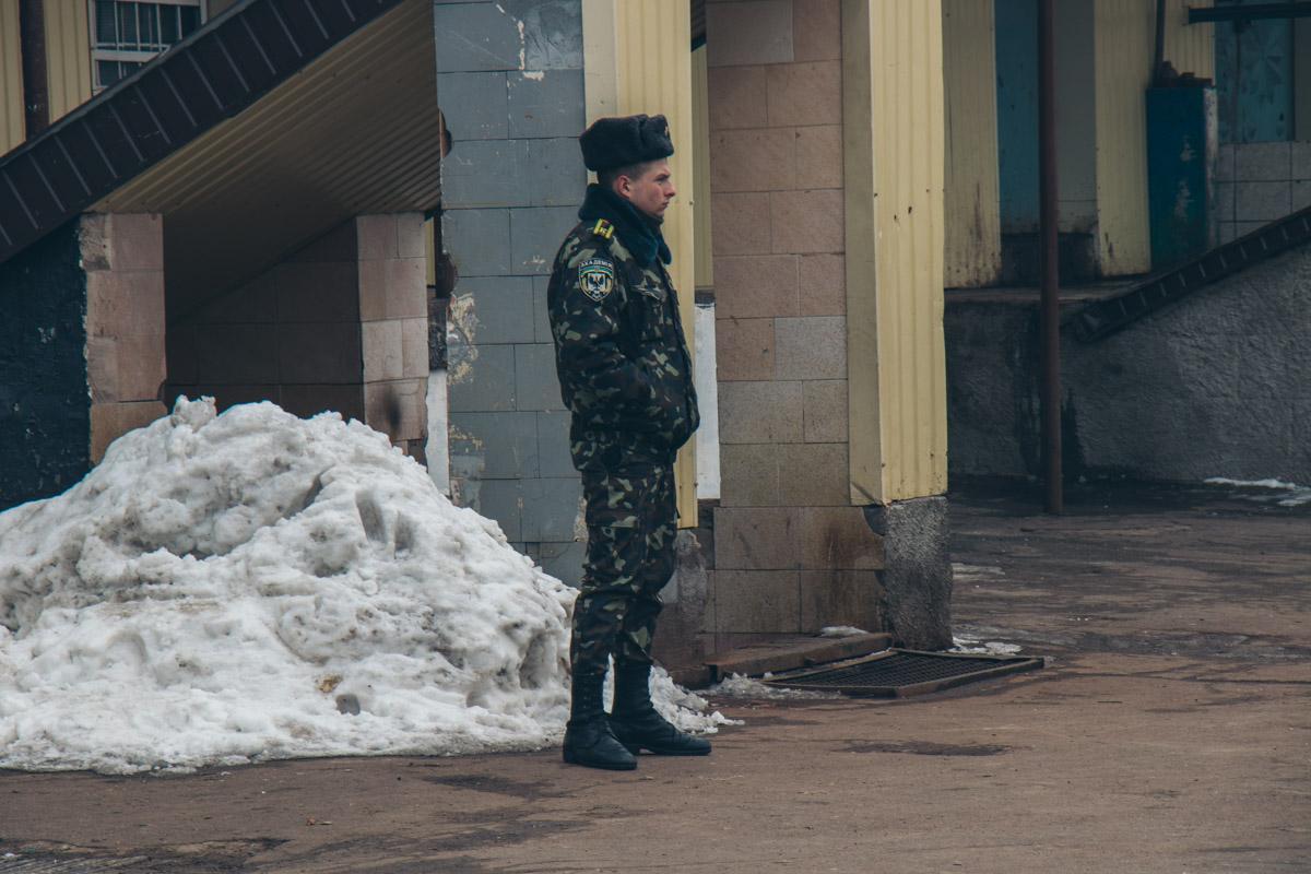 Охрана Лукьяновского СИЗО