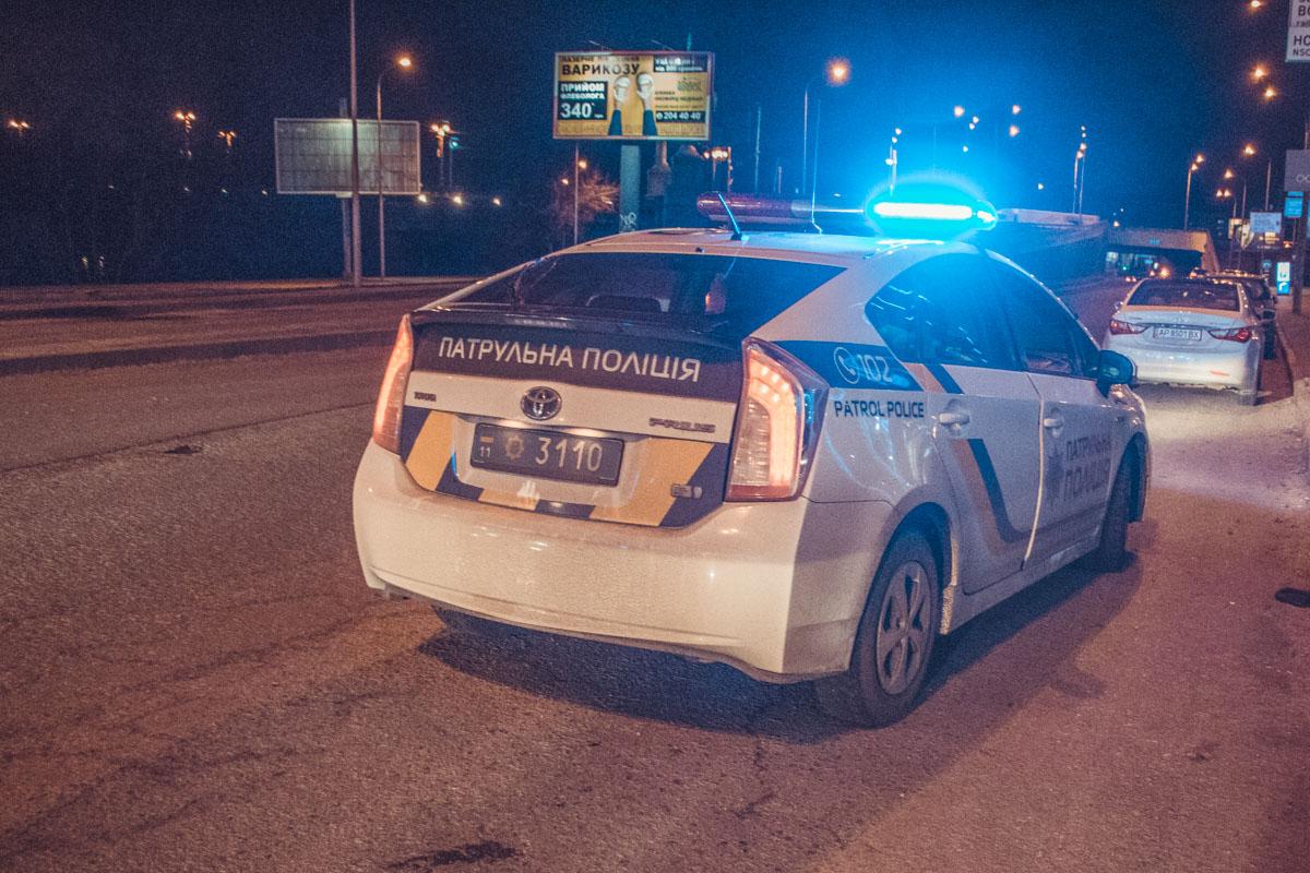 На месте ДТП работают правоохранители