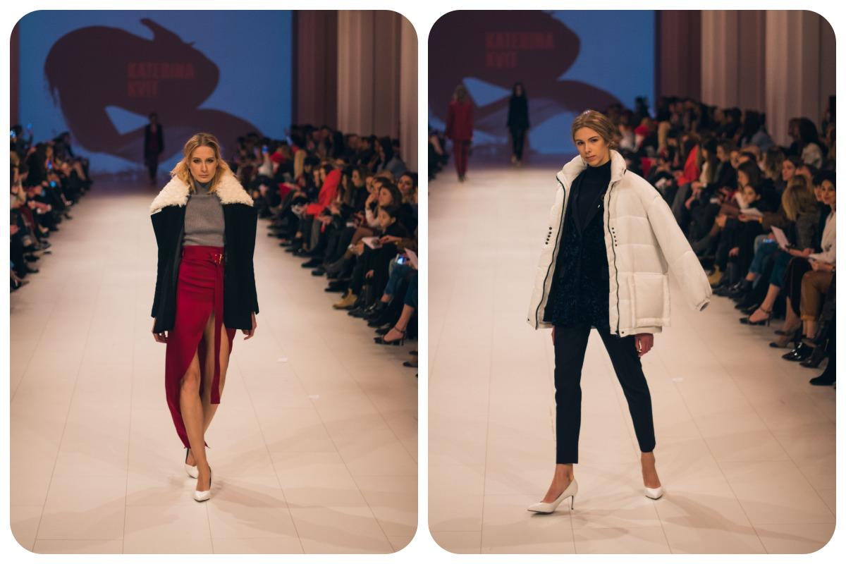 Куртки можно сочетать с длинными платьями топами из шелка