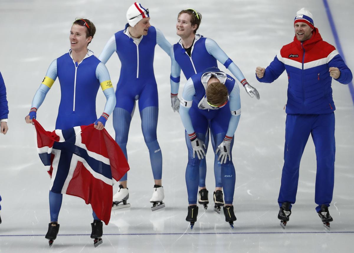 Норвегия - триумфаторы Пхенчхана