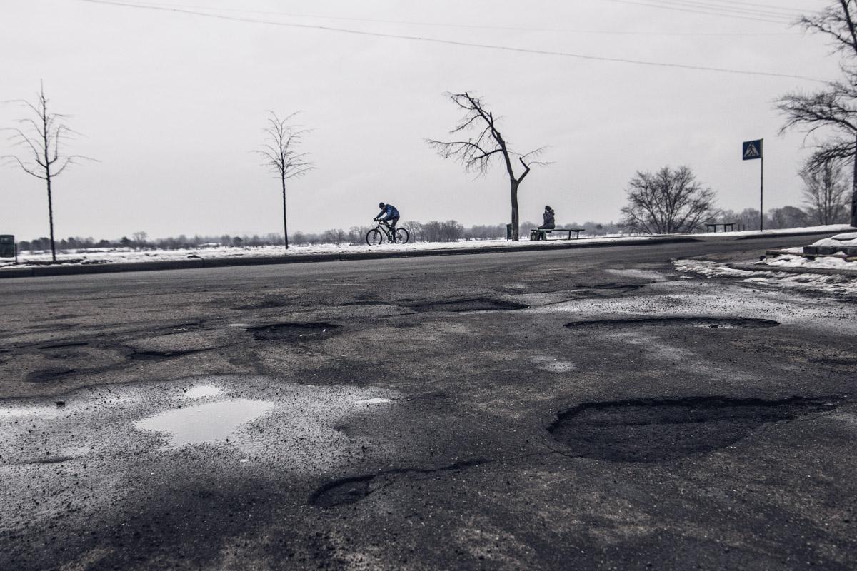 Водителей ждет полоса препятствий
