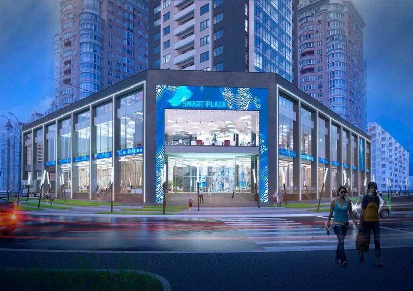 Проект торгового центра на Оболони