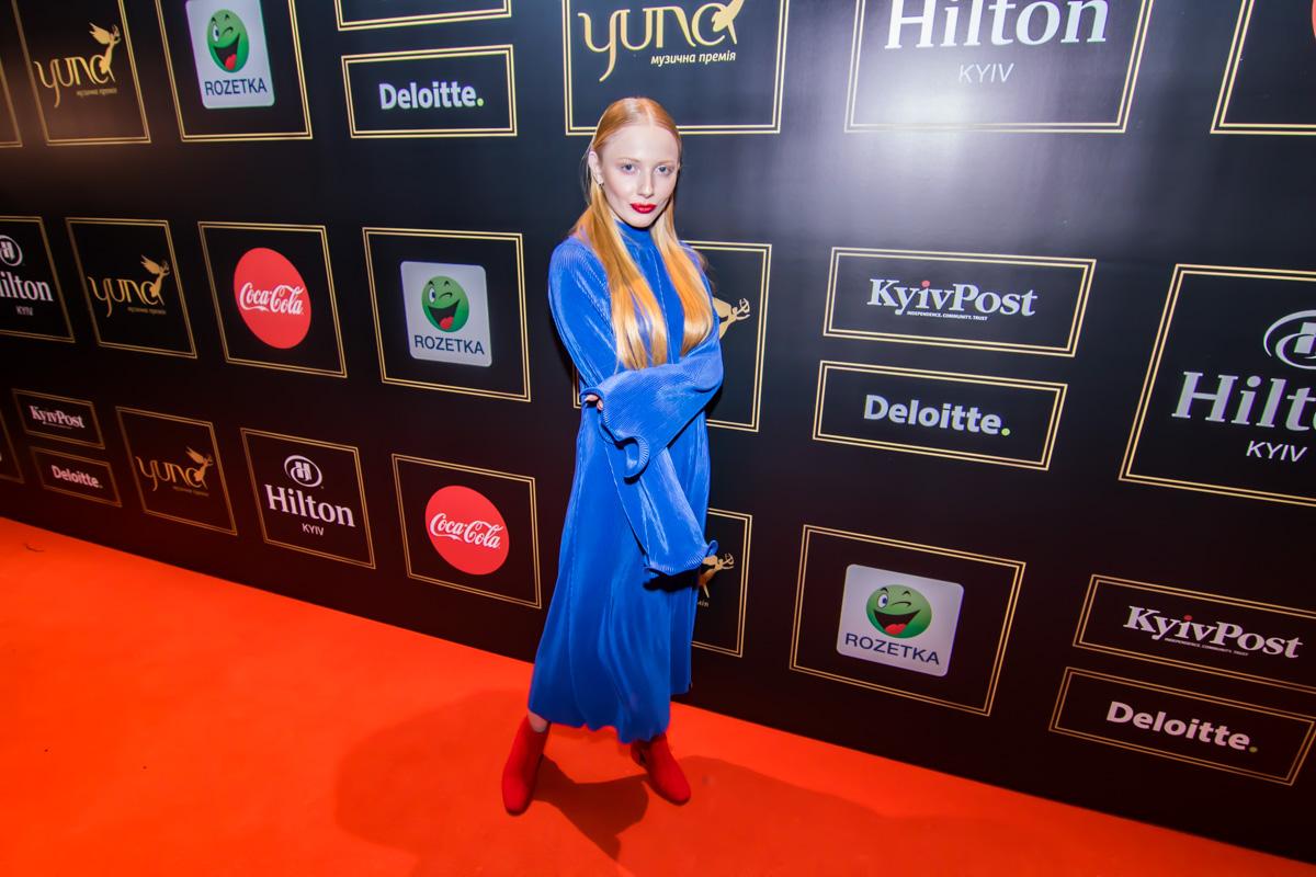 Полуфиналистка Евровидение-2018 в Украине певица INGRET