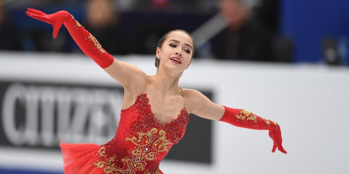 Алина Загитовой. Россиянке всего 15 лет