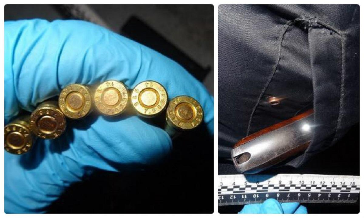 Правоохранители задержали мужчину с оружием и патронами