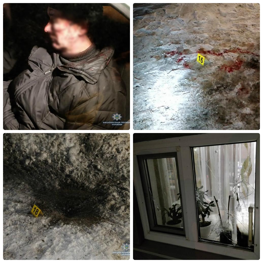 Возле Броваров бывший атошник устроил войны с соседями и полицией