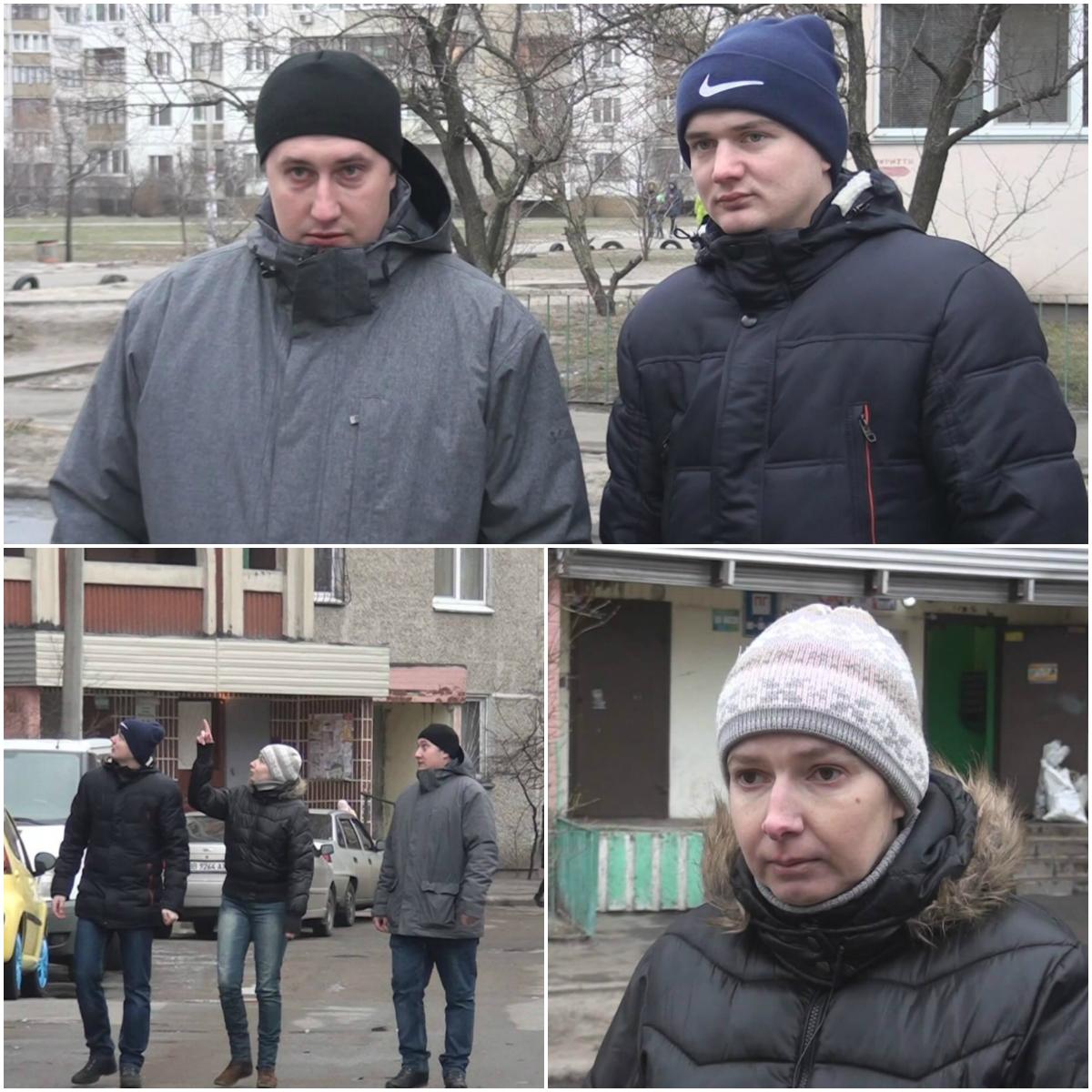 Тамила Муравская вместе с правоохранителями-героями