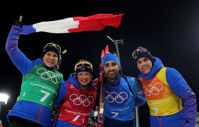 Франция стала олимпийским чемпионом в смешанной эстафете