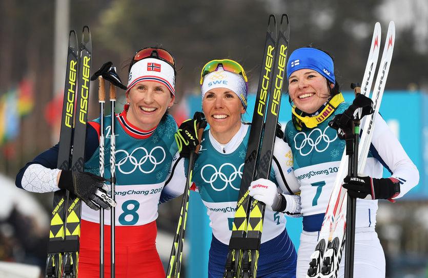 Призеры Олимпийских игр-2018 в скиатлоне