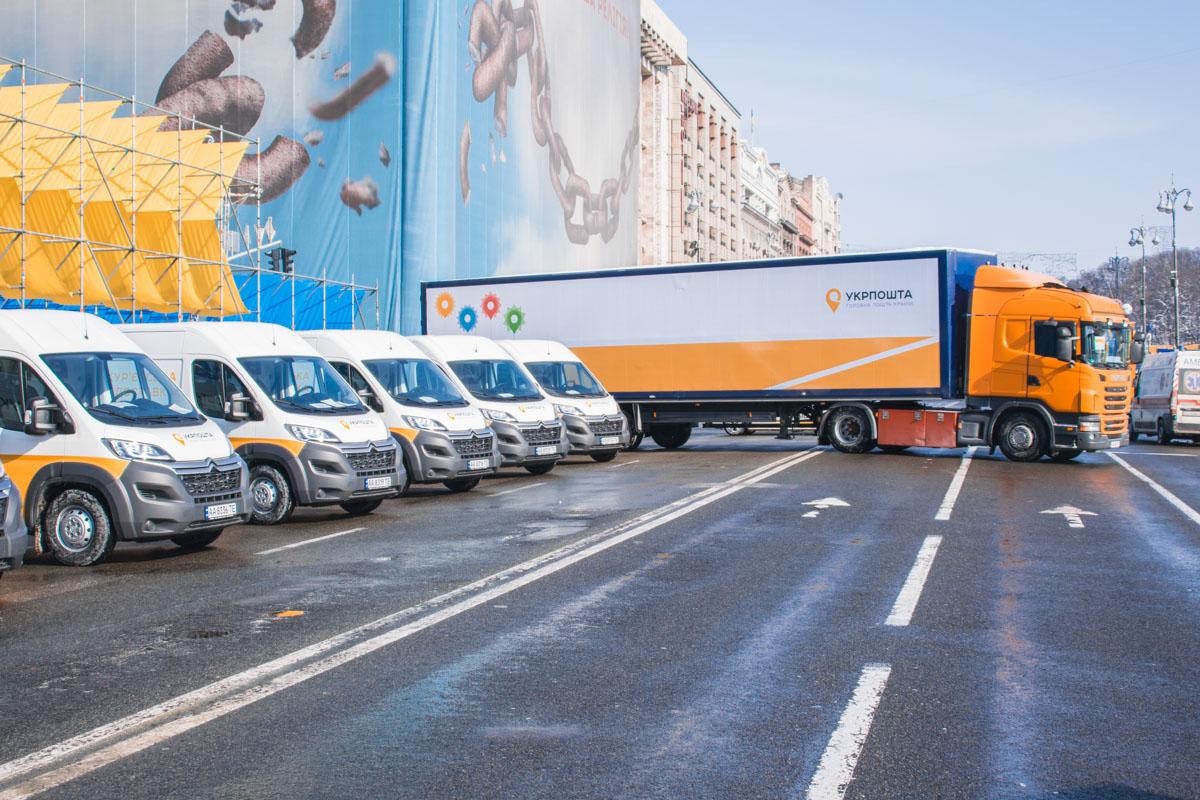 На презентации презентовали и межгородские грузовики