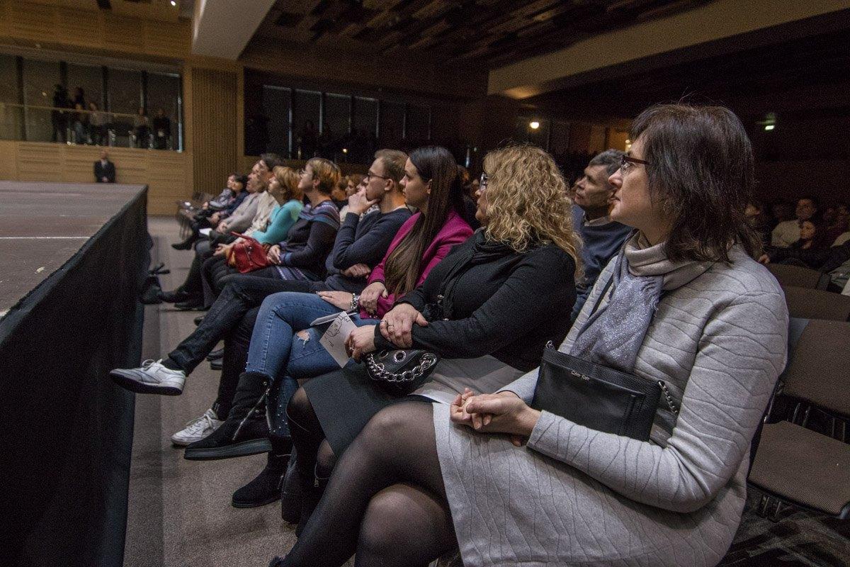 Полный зал благодарных слушателей и ценителей классики