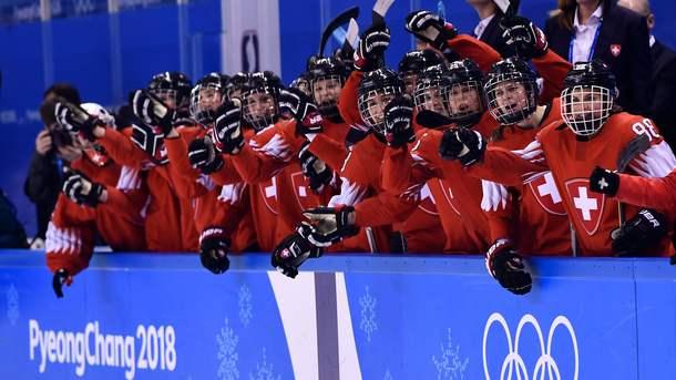 Швейцарские хоккеистки обыграли японок на Олимпиаде-2018