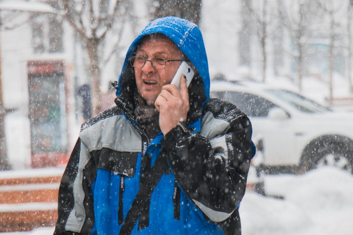 Снег - не повод отложить дела