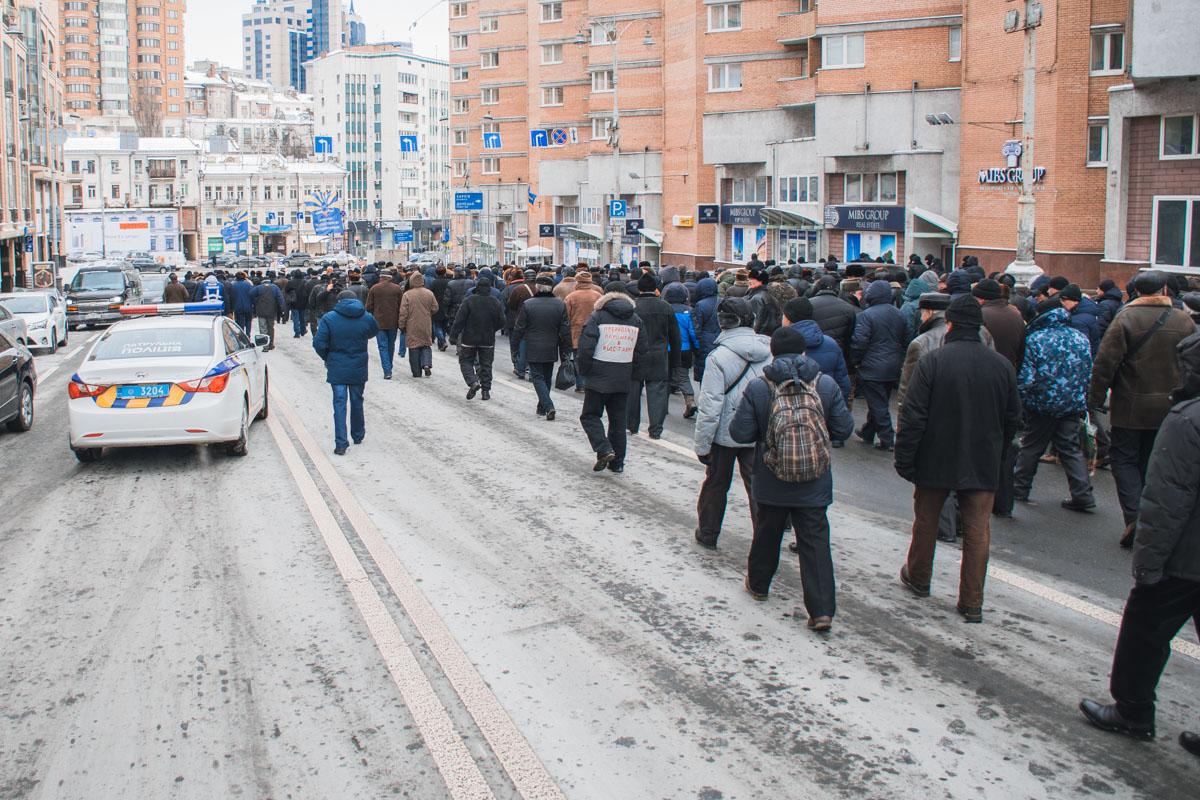 Акция проходит и в других городах Украины