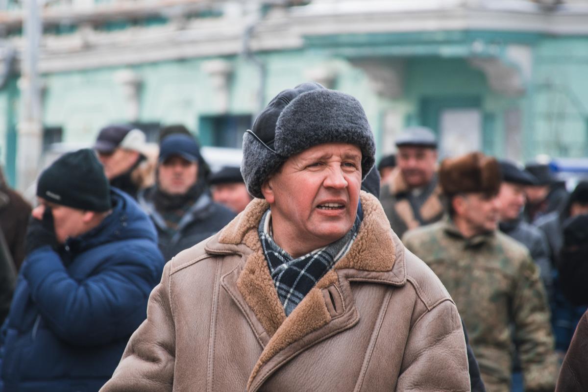 Пенсионеры приехали со всех уголков Украины