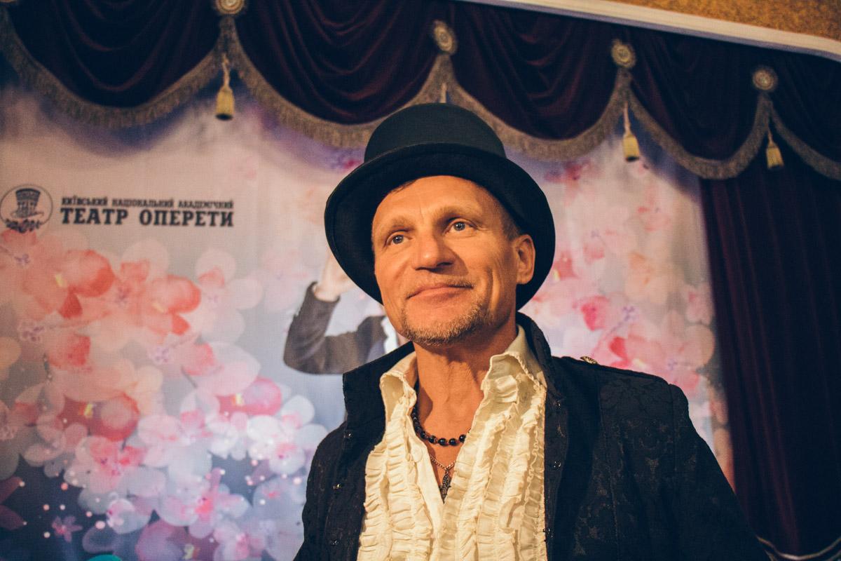 В Театре оперетты состоится шоу с участием Олега Скрипки