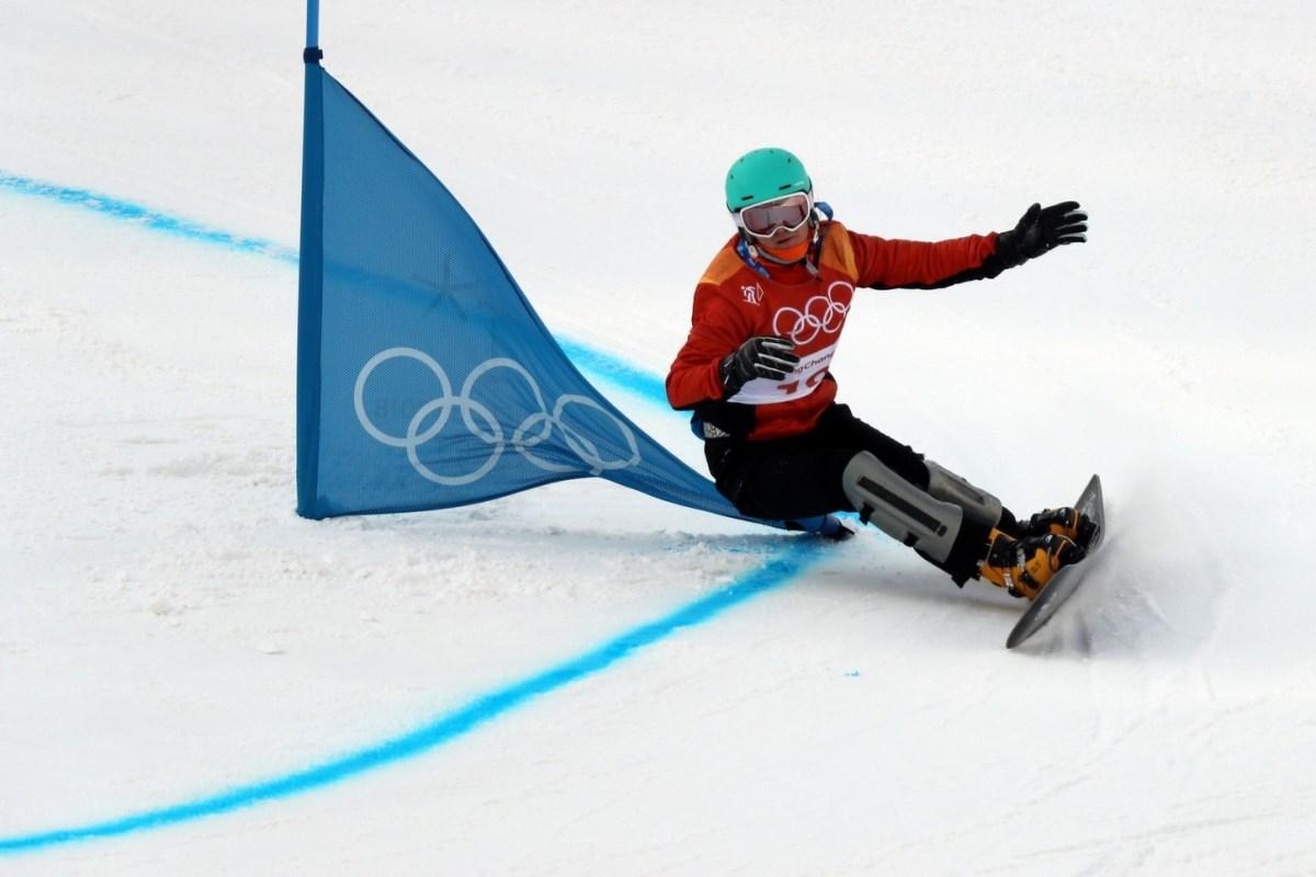 Аннамари Данча представляла Украину в женском сноуборде