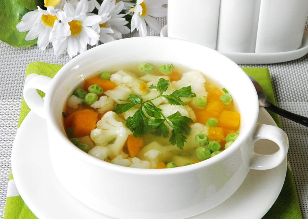 Овощной суп на Великий пост