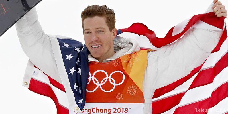 Шон Уайт - трехкратный олимпийский чемпион