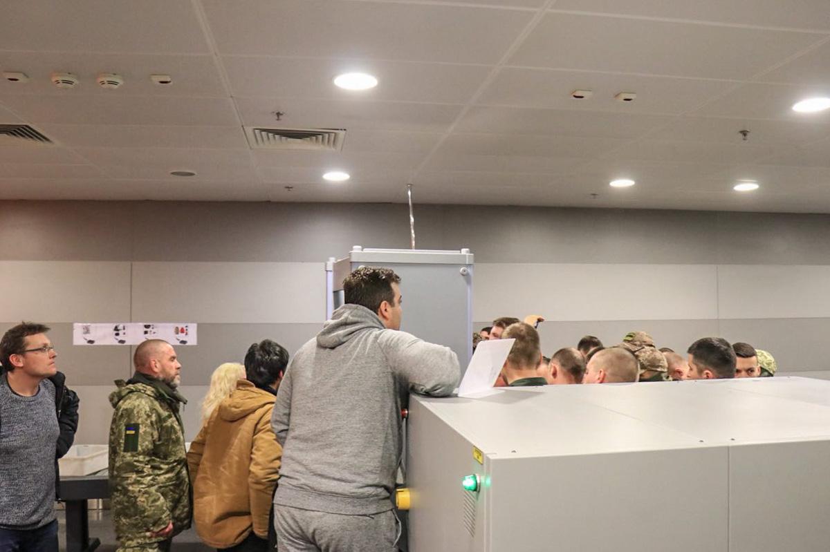 Сторонники Саакашвили в Польше