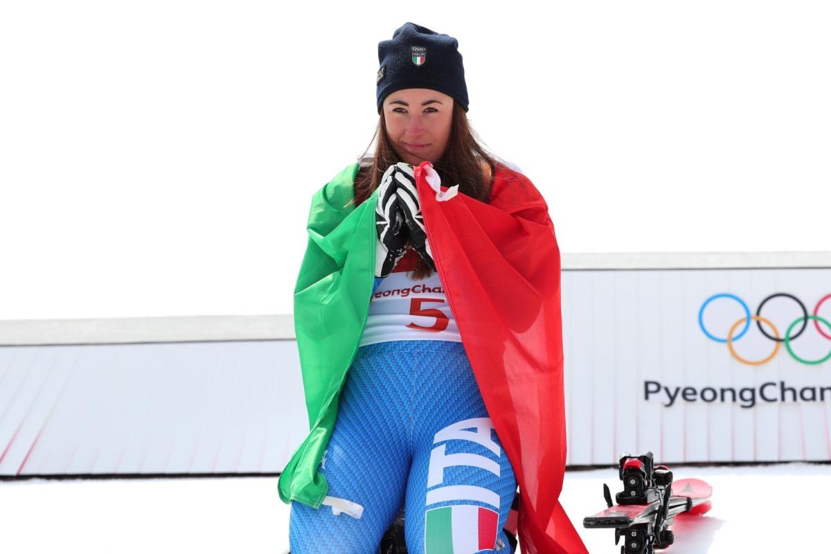 Итальянка София Годжия выборола золото в горнолыжном спорте