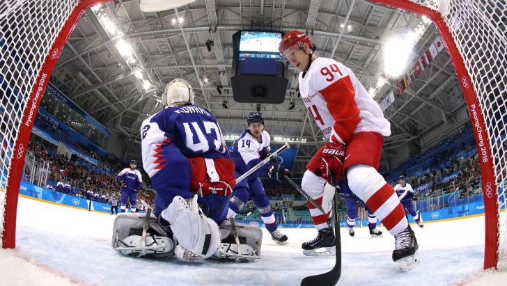 Словакия выиграла у России
