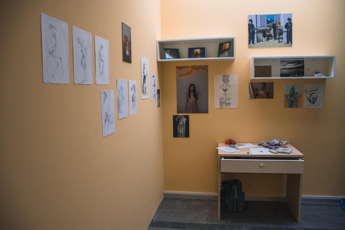 Мастера создавали экспозиции на индивидуальных пространствах