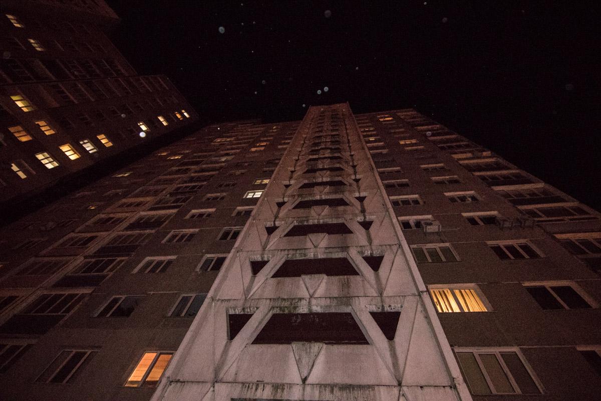 Возгорание произошло на девятом этаже