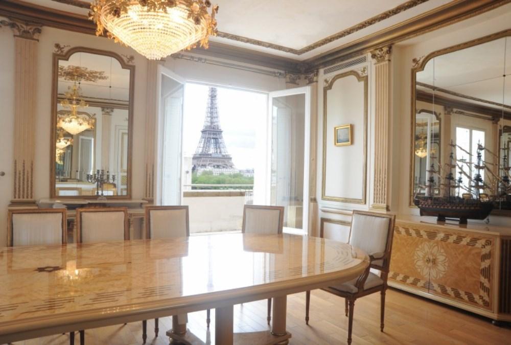 Одна из самых дорогих квартир в Париже