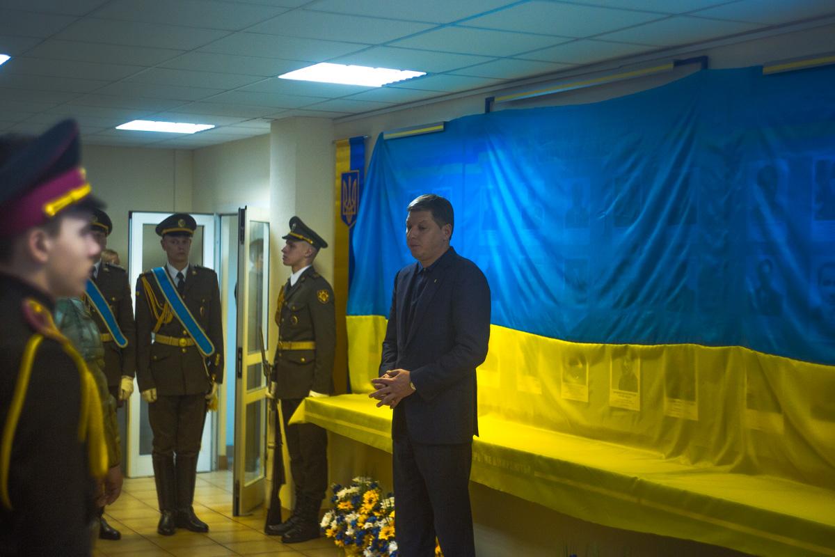 Олег Гаряга произнес благодарственную речь