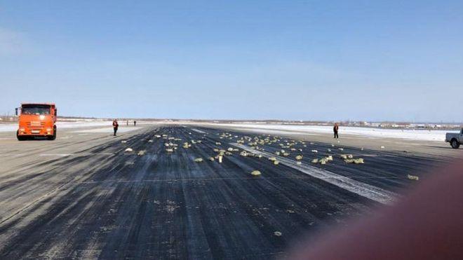 Из самолета над Якутией вывалилось несколько тонн драгметалла
