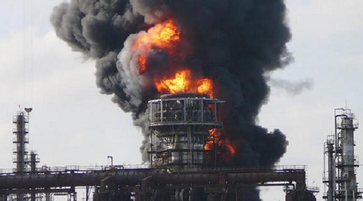 В Чехии произошел взрыв на химическом заводе