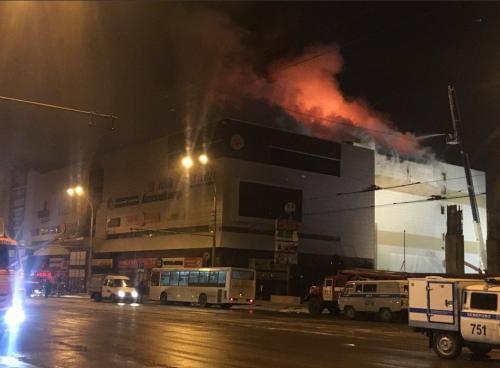 Пожар тушили всю ночь