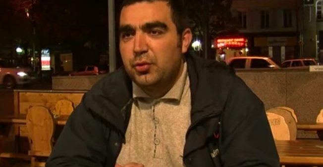 Азербайджанский журналист Рахим Намазов, которого ранили во Франции