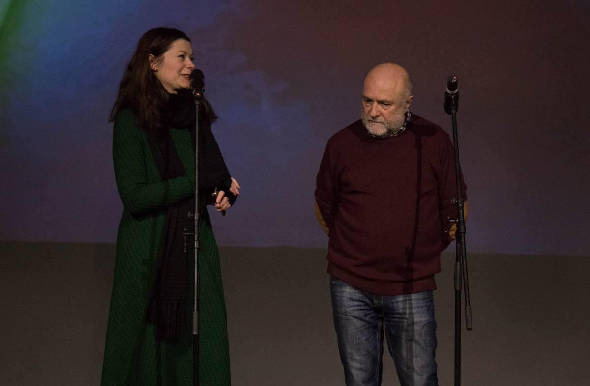 Кураторы выставки Александр Соловьев и Соломия Савчук