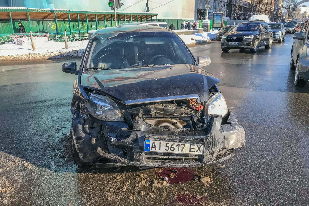 Повреждения Chevrolet