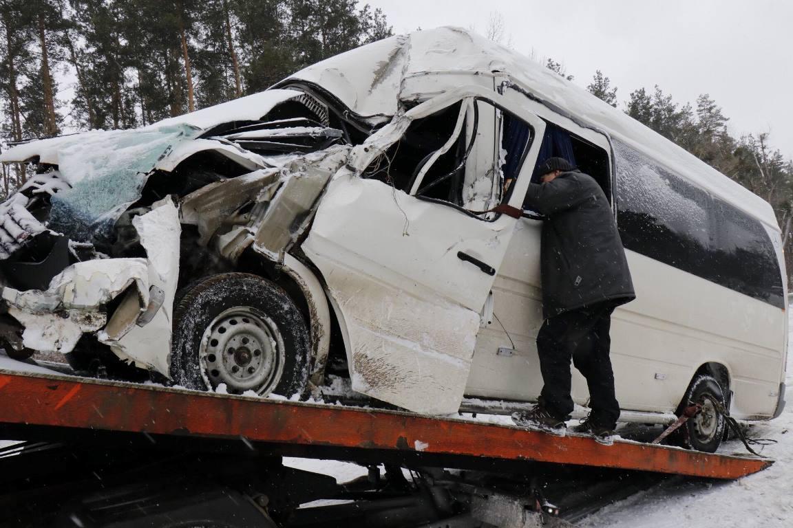 На Житомирской трассе произошло ДТП