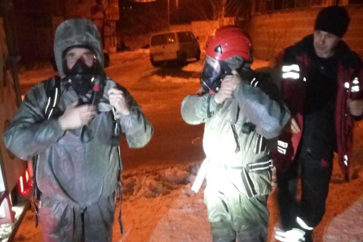 На месте работали спасатели КАРС