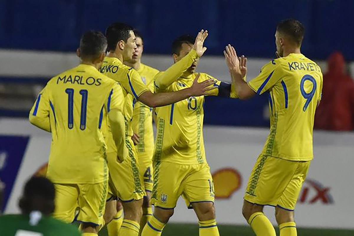 Украина обыграла Японию со счетом 2:1