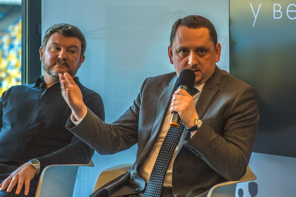 Андрей Бондаренко рассказал, как ФФУ готовится к проведению финала Лиги чемпионов