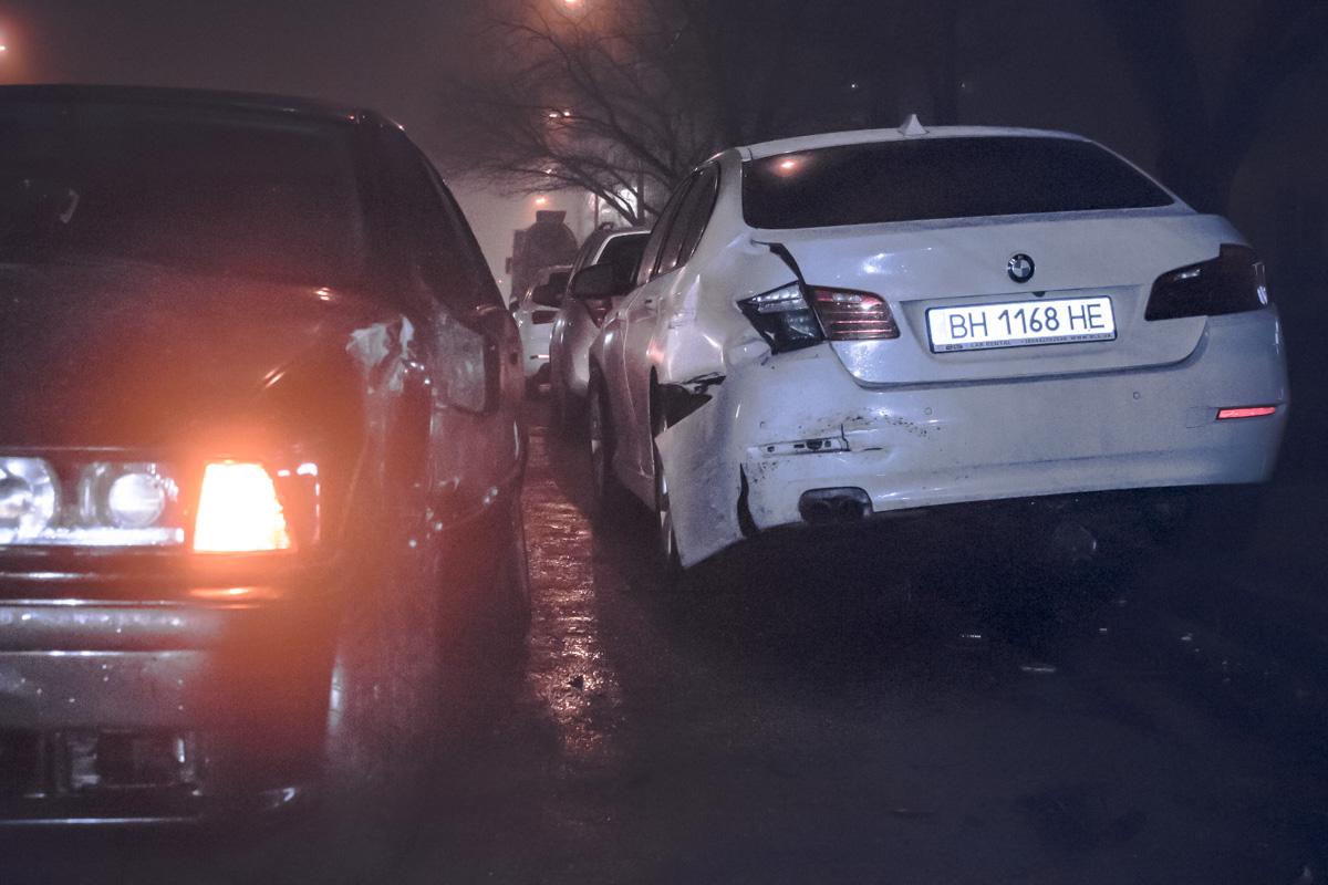 По словам участника ДТП, дорога была мокрой