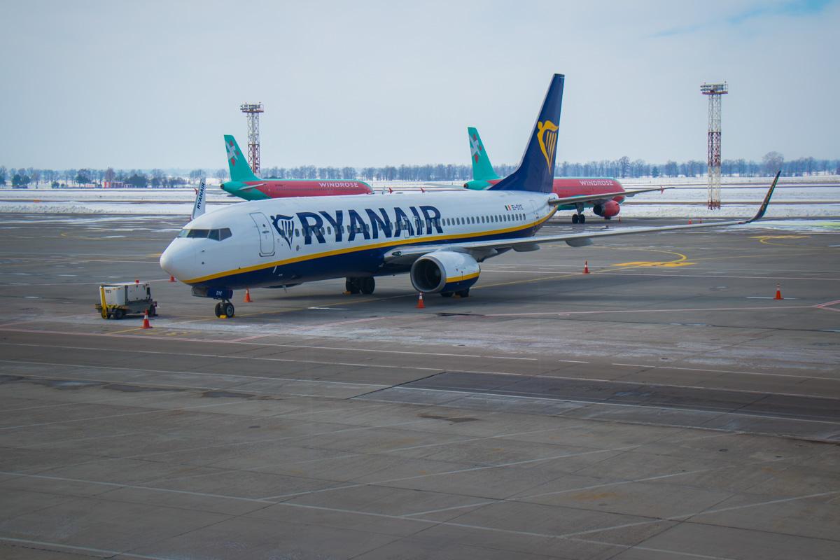Лоукостер Ryanair теперь в Украине