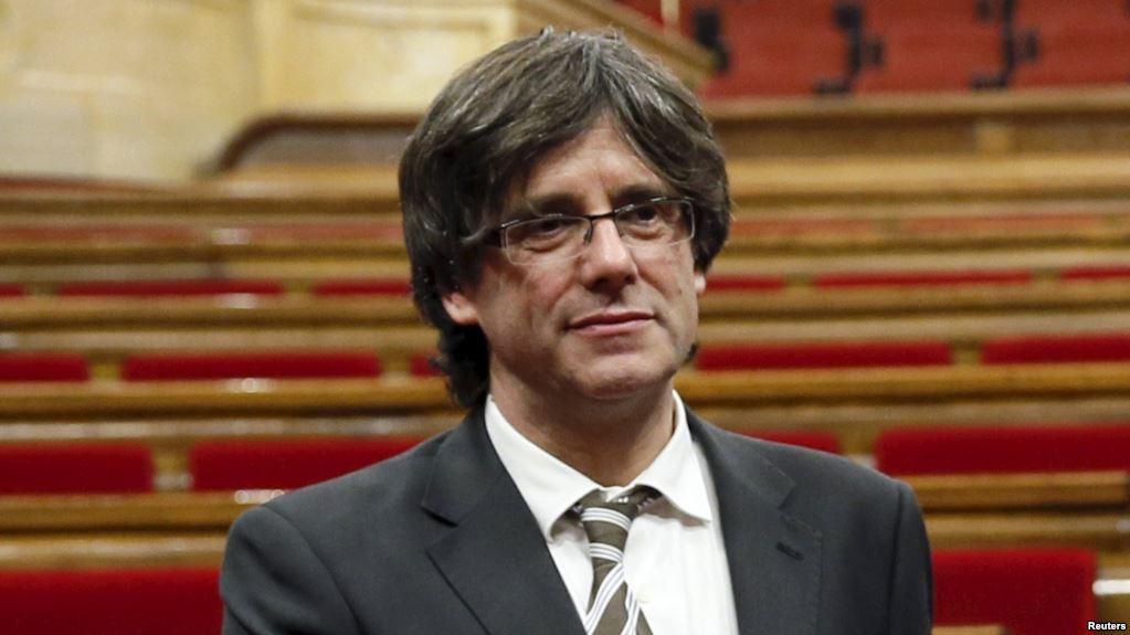 Полиция Германии задержала бывшего главу Каталонии Карлеса Пучдемона
